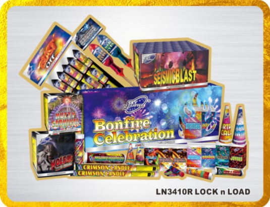 Firework packs up to £200
