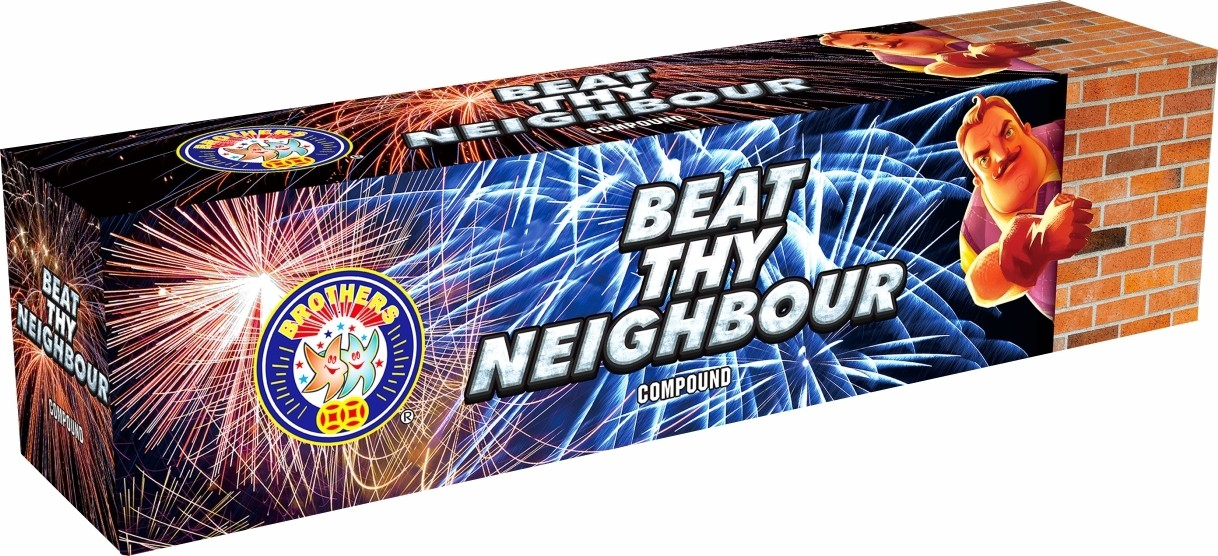 Beat Thy Neighbour By Brothers Pyrotechnics
