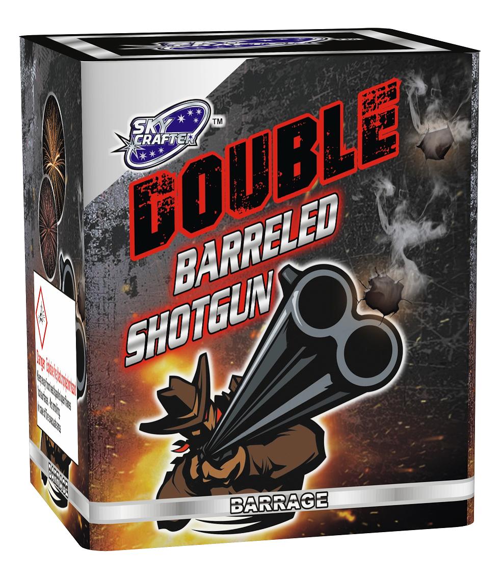Double Barrelled Shotgun By Skycrafter
