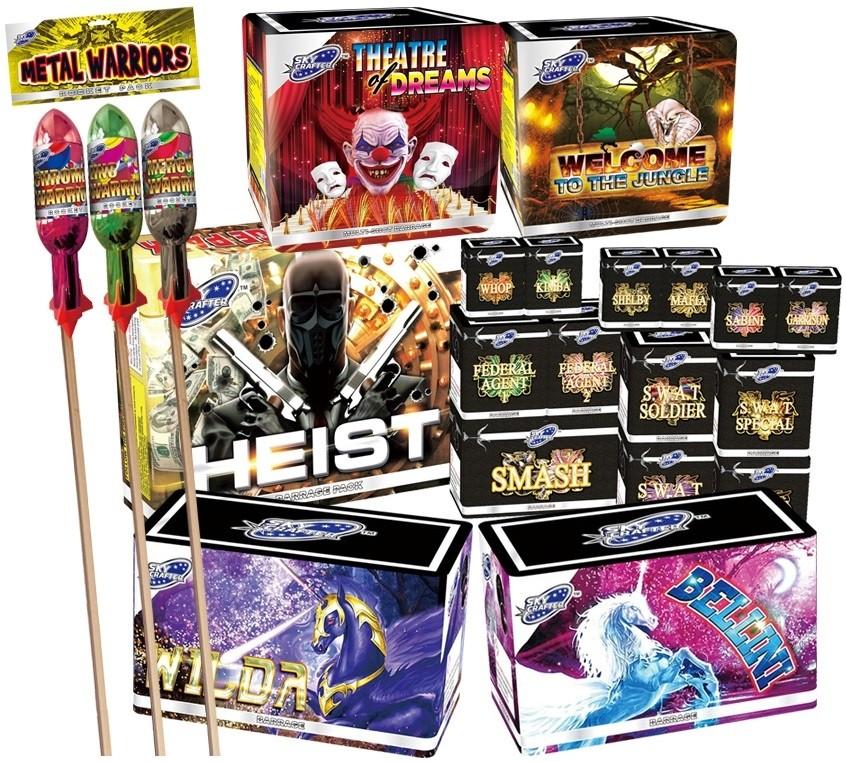 Epic Firework Set By Fireworks Kingdom
