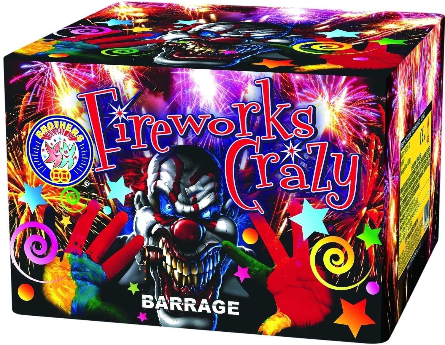 Fireworks Crazy By Brothers Pyrotechnics