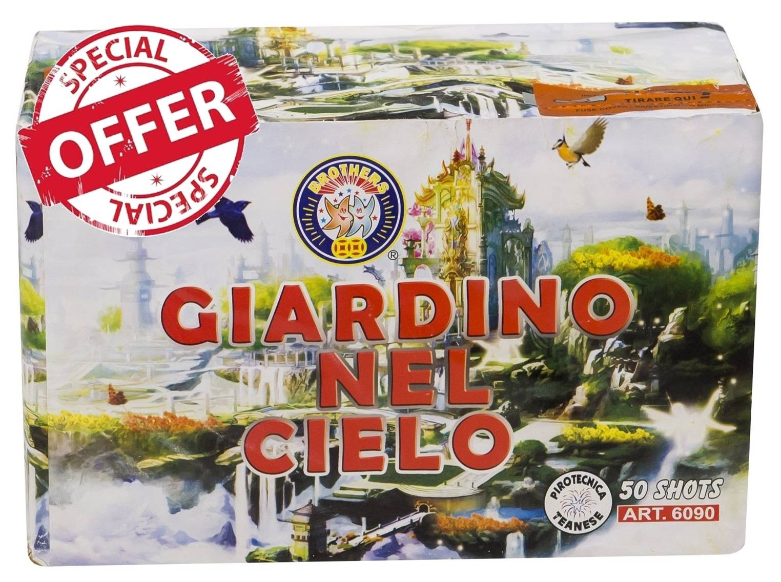 Giardino Nel Cielo (Garden in the Sky) by Brothers Pyrotechnics