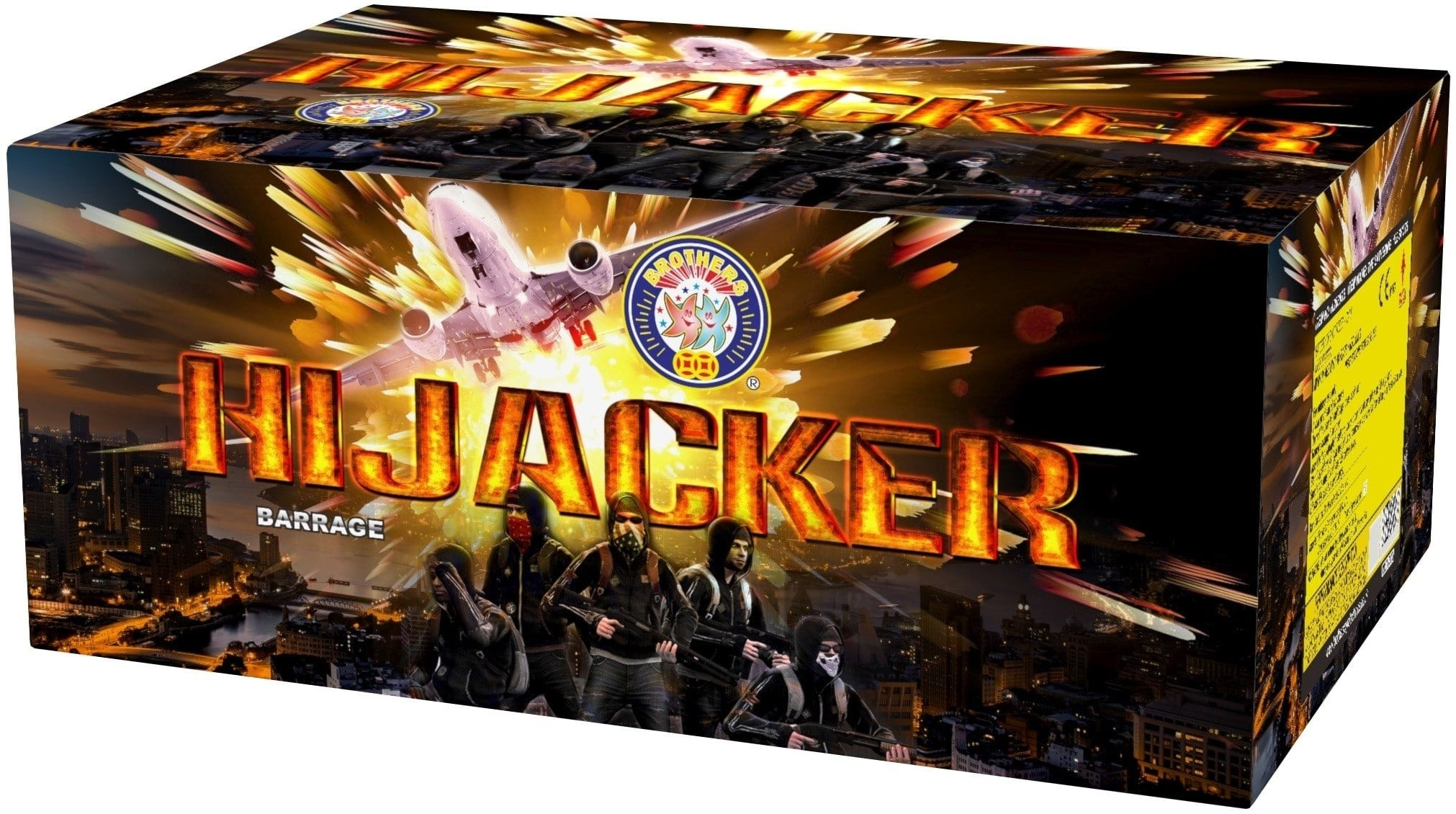 Hijacker By Brothers Pyrotechnics