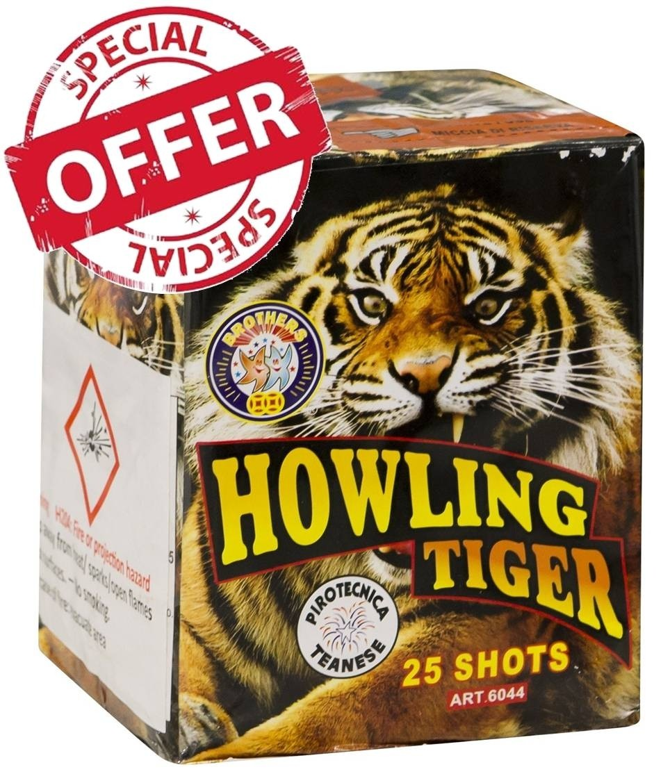 Howling Tiger by Brothers Pyrotechnics