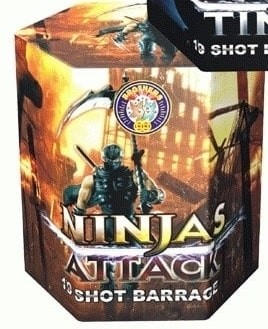 Ninjas Attack By Brothers Pyrotechnics