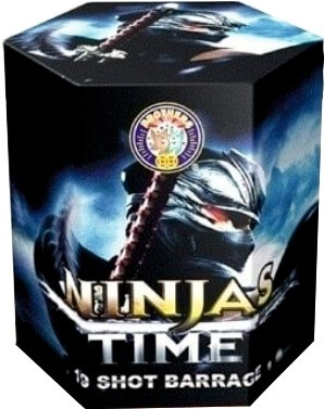 Ninjas Time By Brothers Pyrotechnics
