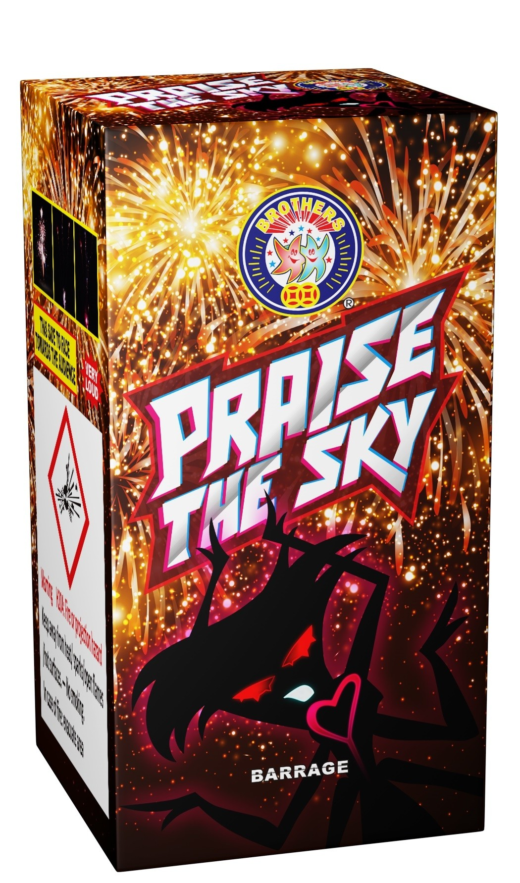 Praise the Sky Barrage from Brothers Pyrotechnics