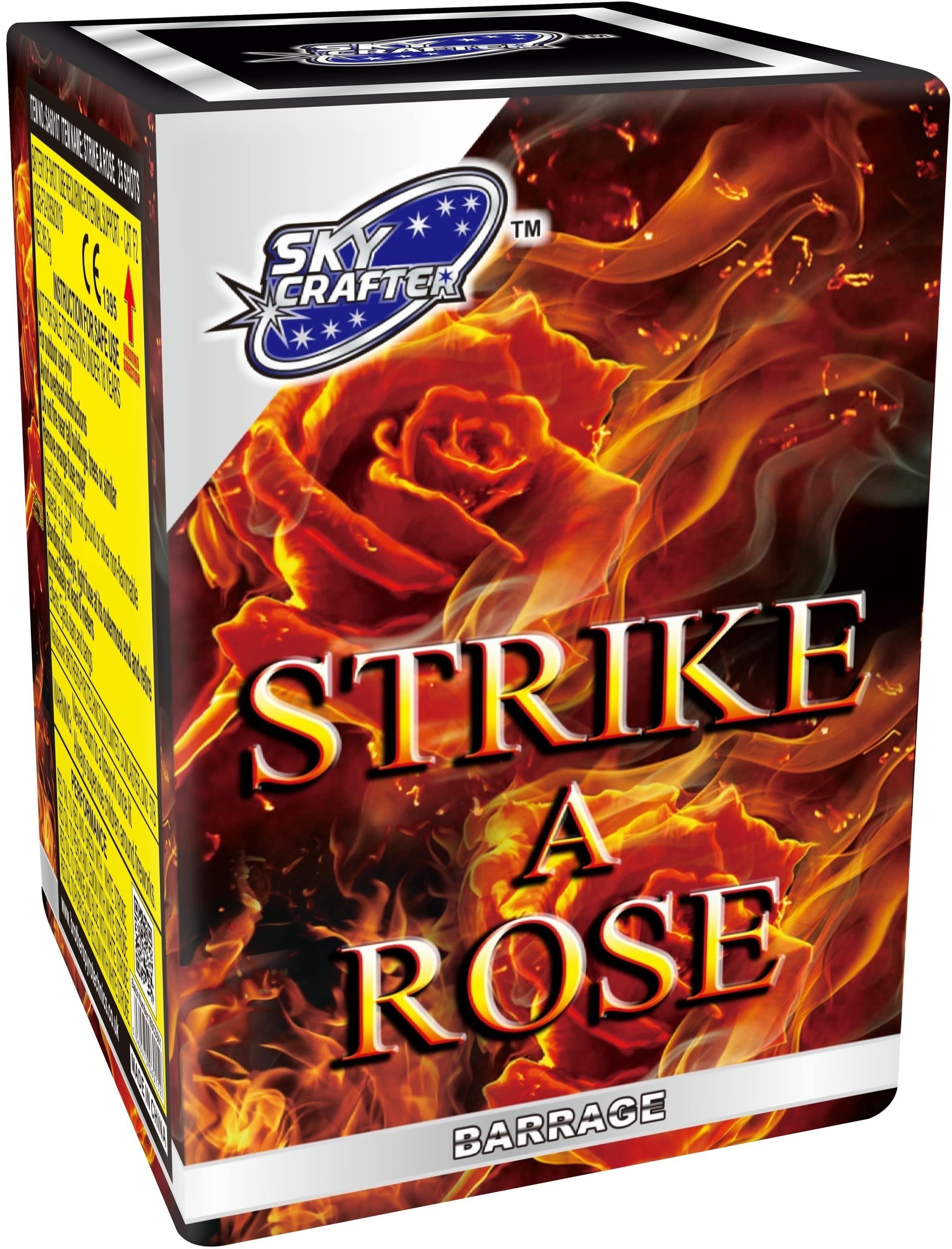Strike A Rose By Skycrafter Fireworks
