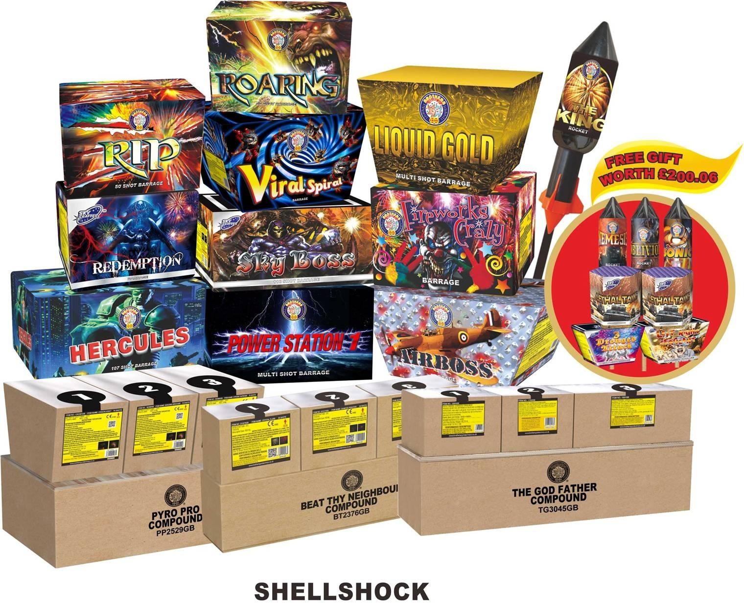 Shellshock By Fireworks Kingdom