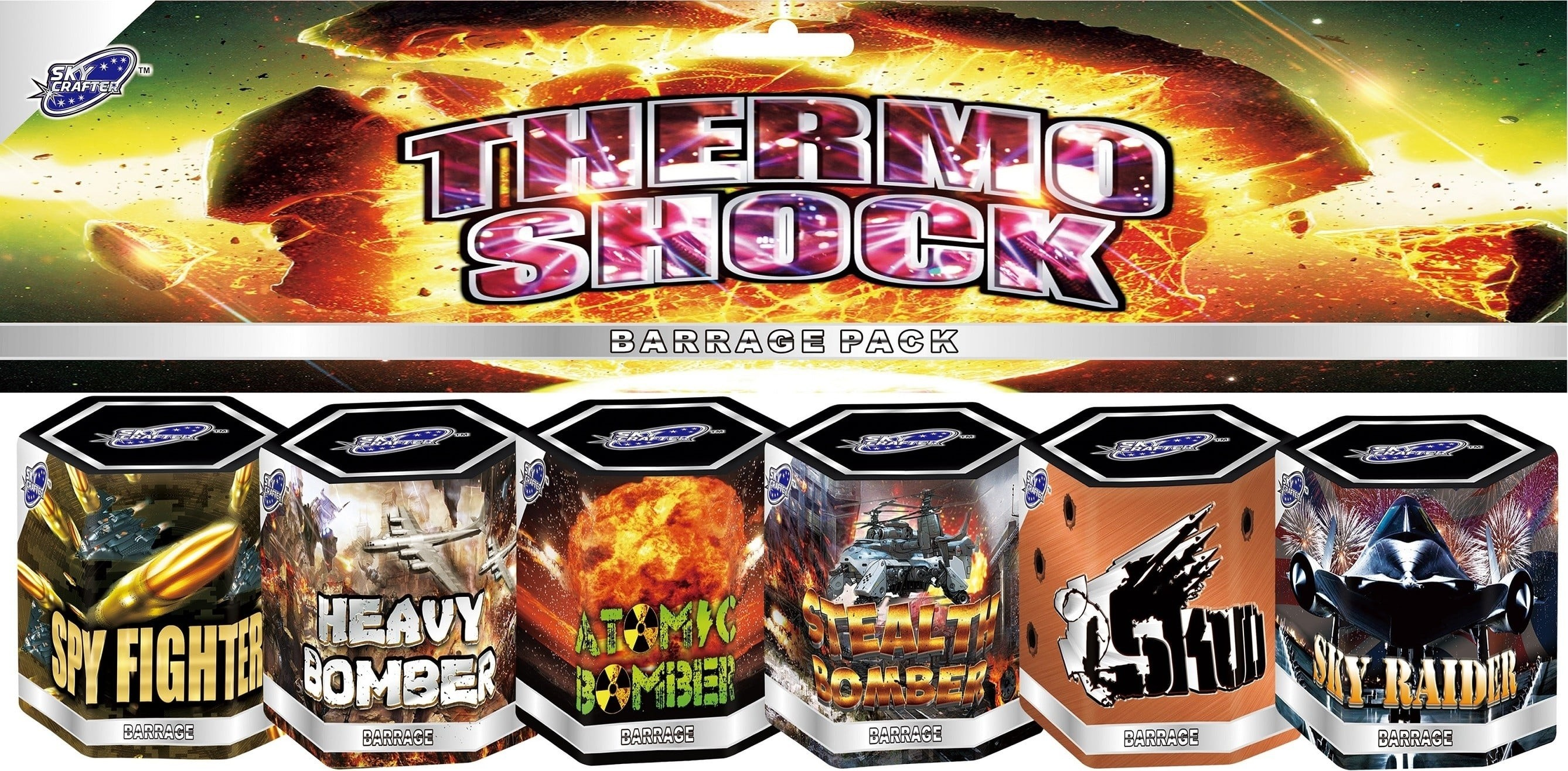 Thermo Shock by Skycrafter Fireworks