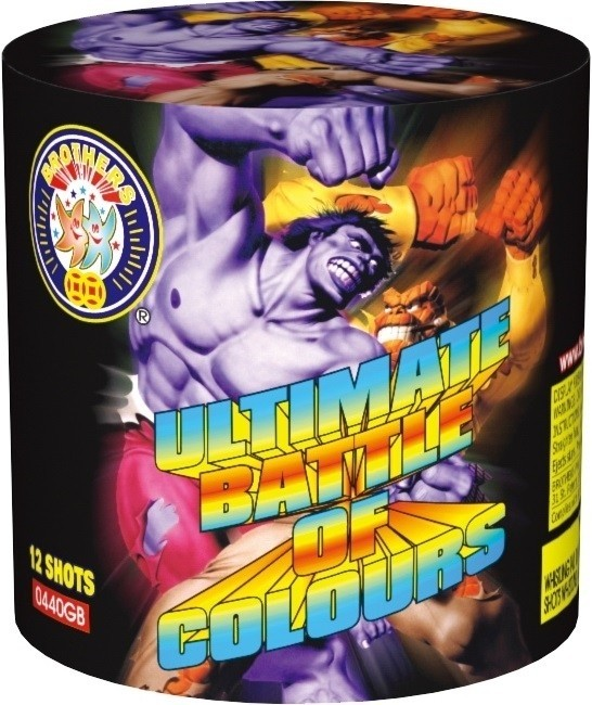 Ultimate Battle Of Colours By Brothers Pyrotechnics