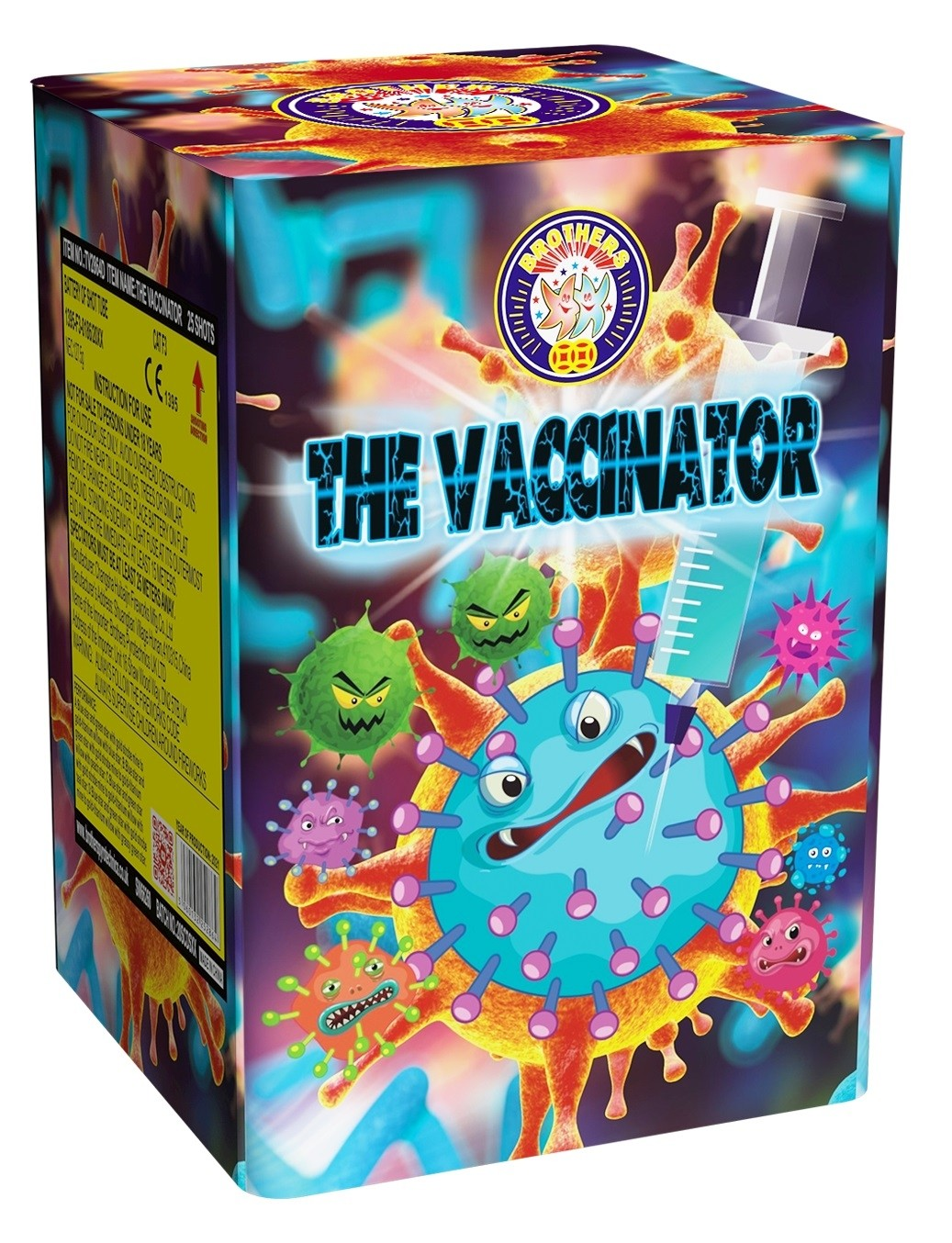 The Vaccinator Firework Barrage by Brothers Pyrotechnics