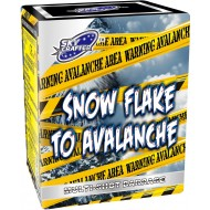 Snowflake to Avalanche by Skycrafter Fireworks