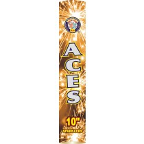 "10"" Aces Golden Sparklers by Brothers Pyrotechnics"