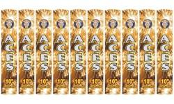 """10"""" GOLDEN SPARKLERS (10 Pack)"""